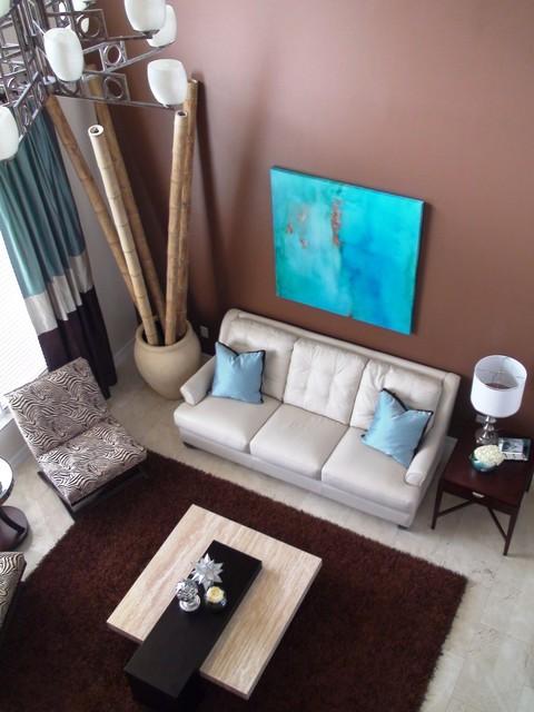 Ice Mocha Living Room modern-living-room
