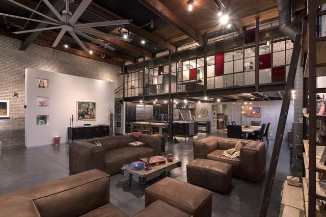 Ignertia Building industrial-living-room