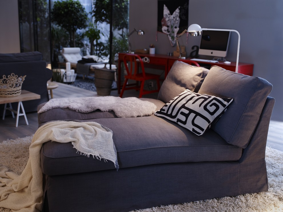Living room - contemporary living room idea in Other