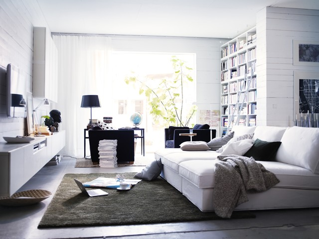 IKEA living room contemporary-living-room