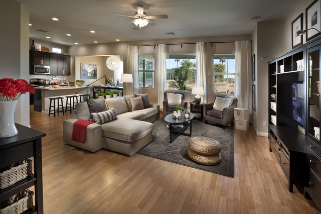 IKEA Next Gen Home, Arizona - Contemporary - Living Room - Orange ...