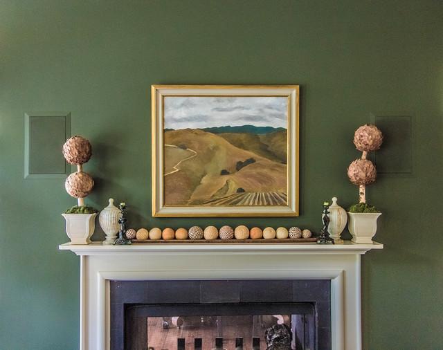 In Home Audio Hidden Speakers Living Room San Francisco By SoundV