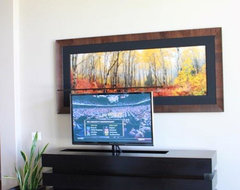 In home Modern modern-living-room