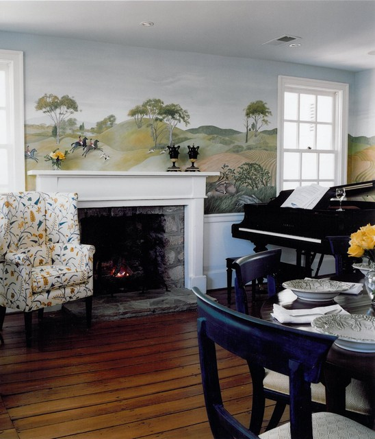 Orlean traditional living room