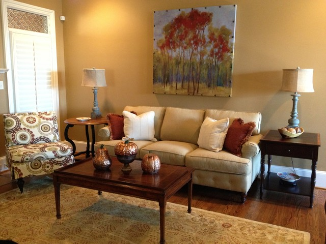 In the Customer's Home eclectic-living-room