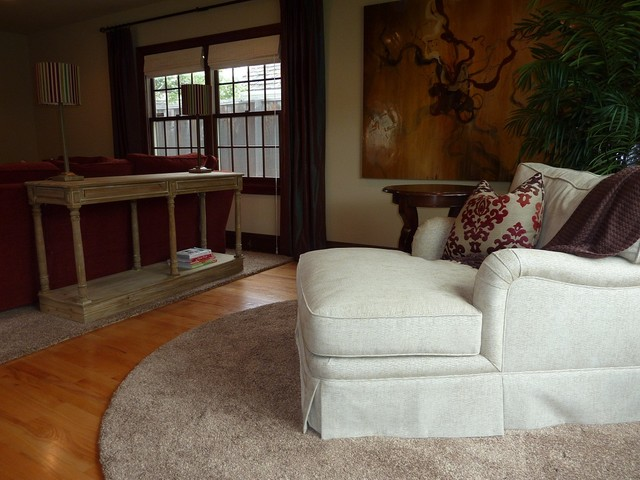 In the Rose Garden eclectic-living-room