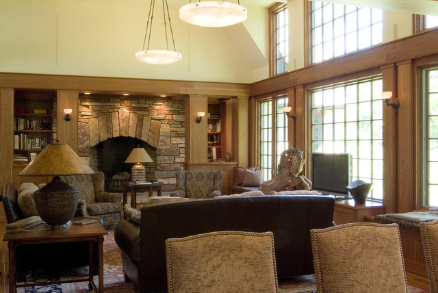 Indiana Residence traditional-living-room