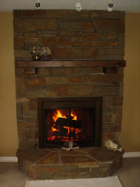 indoor fireplaces traditional living room portland