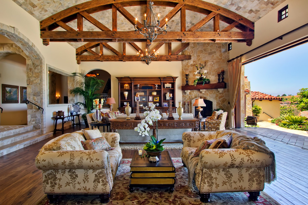 Indoor Outdoor Living Room by Susan Spath - Traditional ... on Outdoor Living Space Company id=26416