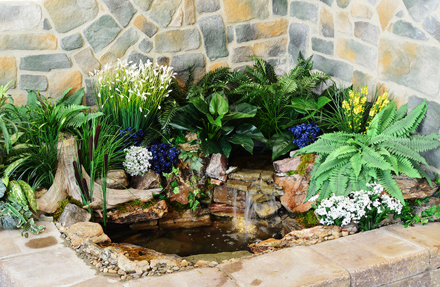 Indoor Waterfalls, Indoor Pondless Waterfalls Living Room Part 34