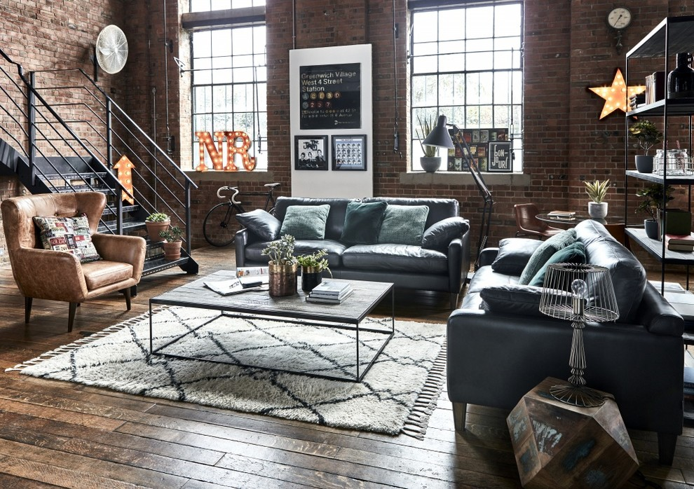 Industrial Ambition | Industrial-Inspired Living Room Furniture - Industrial - Living Room - Other - By Barker And Stonehouse