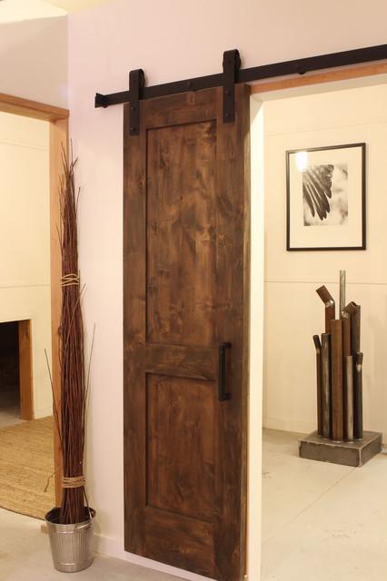 Industrial Barn Door Hardware Modern Living Room