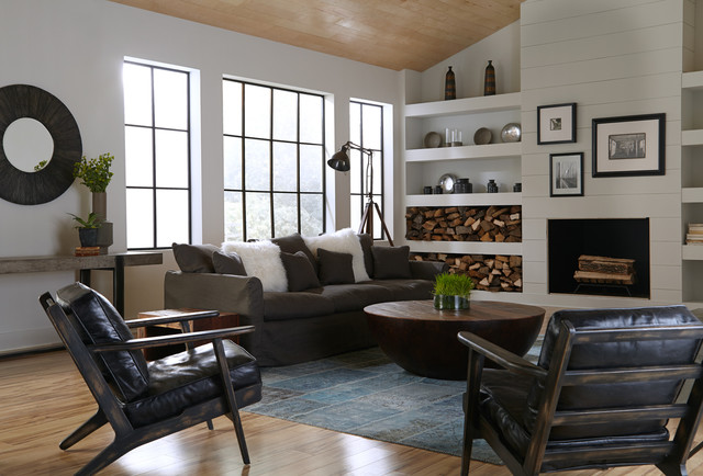 Industrial Home Designs Farmhouse Living Room