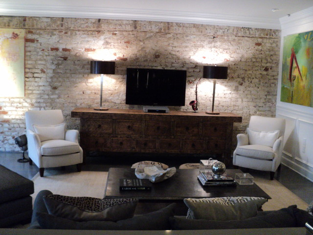 industrial living room industrial living room