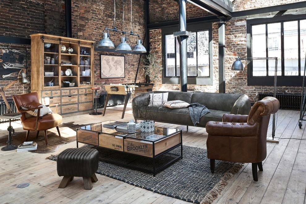 Industrial Living Room London, Industrial Living Room