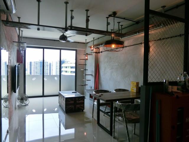 Industrial Style Punggol Walk Hdb Bto 4rm
