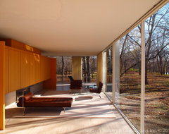 Influential Architecture ~ The Edith Farnsworth House modern-living-room