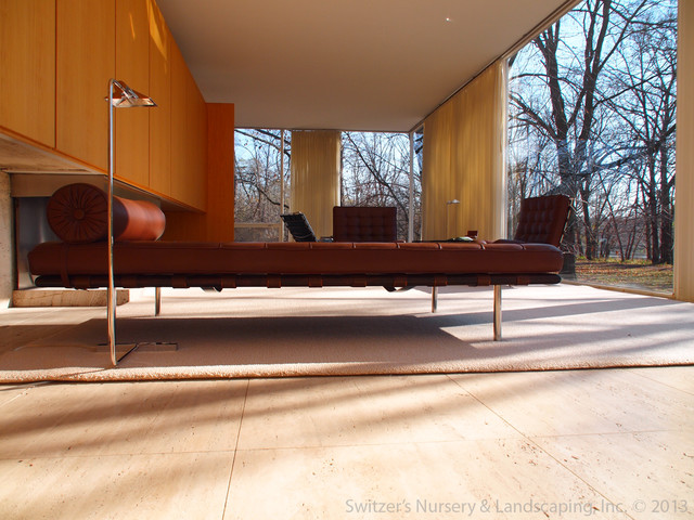 High Quality Influential Architecture ~ The Edith Farnsworth House Modern Living Room