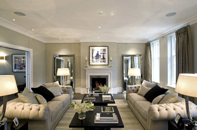 Inspired Lighting Solutions Traditional Living Room London By Inspired Dwellings