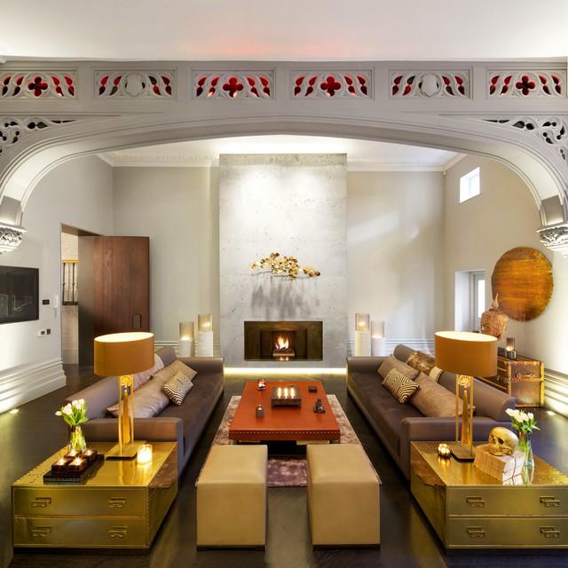 Inspired Lighting Solutions Modern Living Room London By Inspired Dwellings