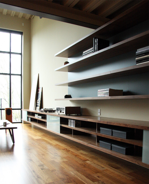 Living Room Shelving Unit Most bookcases and shelving units are
