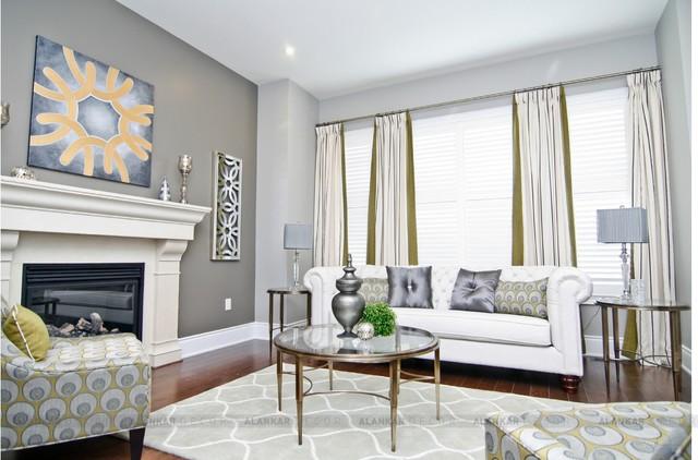 INTERIOR BY ALANKAR DECOR Eclectic Living Room