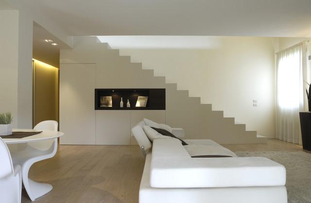 Interior design casa fanti contemporaneo soggiorno bologna di stefano zaghini - Interior designer bologna ...