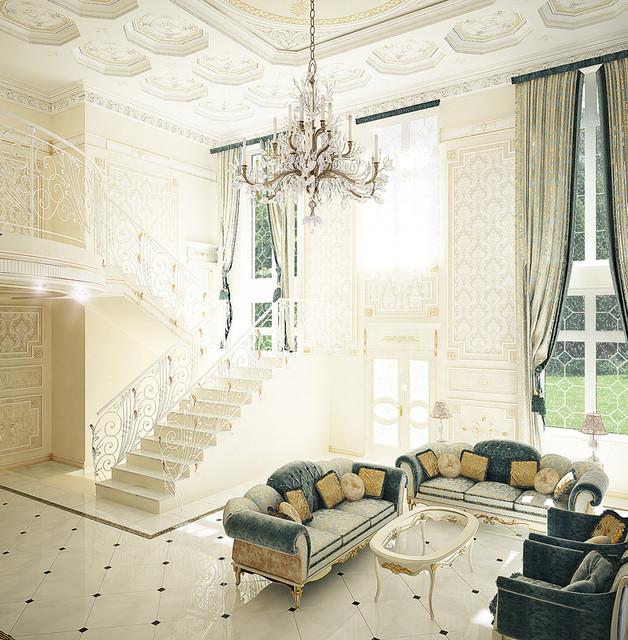 Traditional Living Room Interior Design: Interior Design ERA