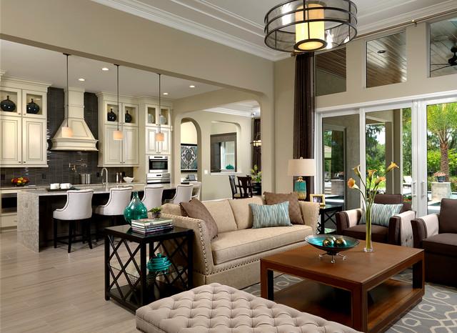 extraordinary living room transitional interior | Interior Design Gallery - Transitional - Living Room ...
