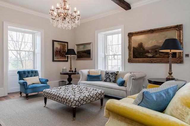 Interior Design: Georgian House traditional-living-room