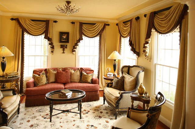 Formal Living Room Draperies Traditional Living Room St Louis By Your