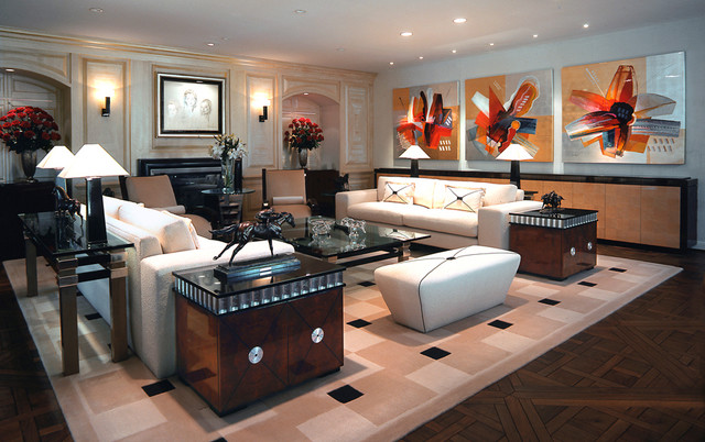 residential images contemporary-living-room