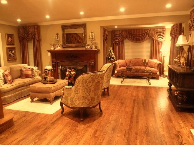 Interior Design Service Traditional Living Room New