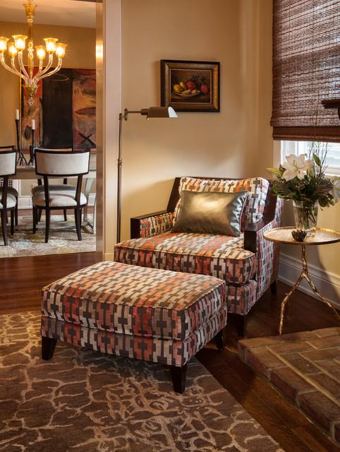 Classic Living Rooms Interior Design: Interior Designer's Residence