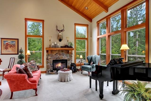 INTERIOR DETAILS craftsman-living-room