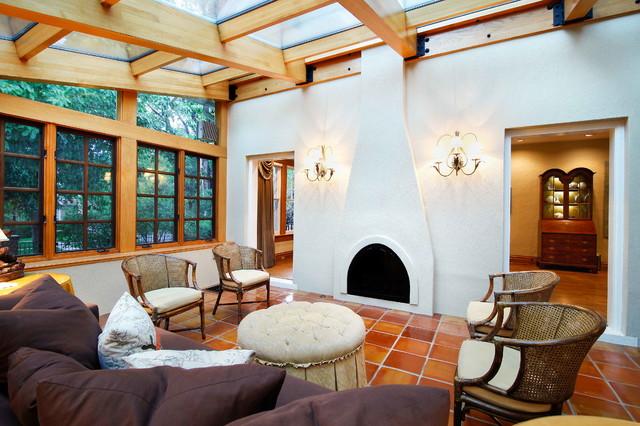 Interior Elements mediterranean-living-room