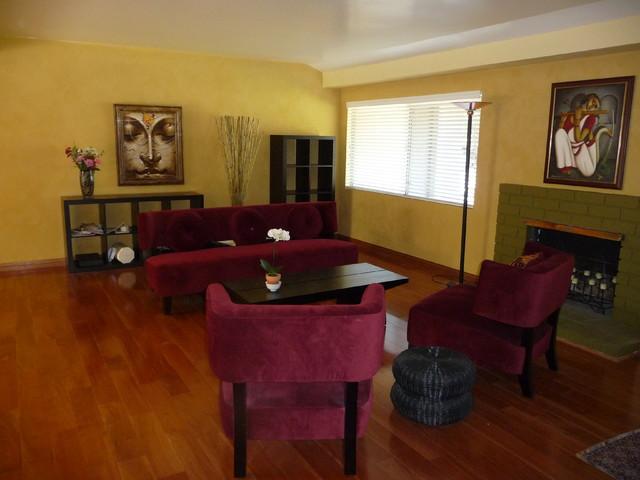 Interior Gaines contemporary-living-room