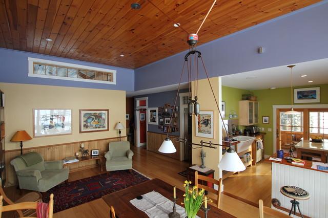 Interior Living Barndominium