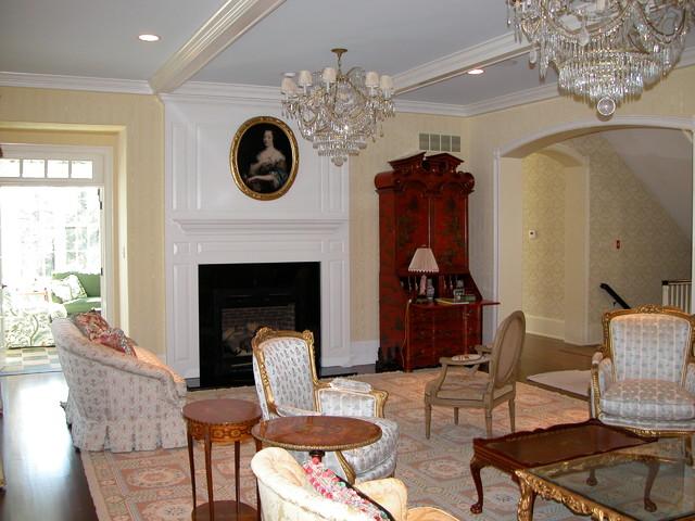 Interior Painting Traditional Living Room Philadelphia By John Neill Painting