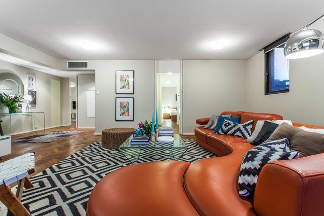 Interior contemporary-living-room