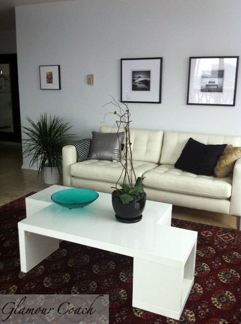 ... - Contemporary - Living Room - new york - by Glamour Coach DECOR