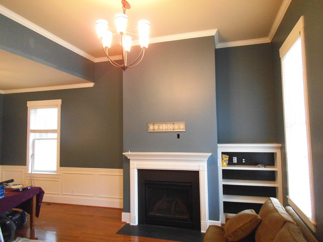 Interior Re Paint Jobs Traditional Living Room Louisville By L A Painting Services Llc