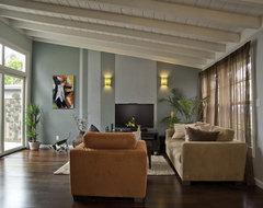 Interior Renovation modern-living-room