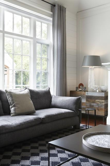Interior Renovations Transitional Living Room Toronto By Strickland Mateljan