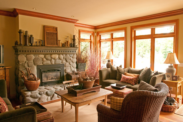 . Interior Repaint by Warline Painting   Traditional   Living Room