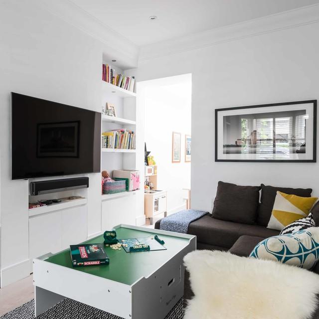 Interior styling scandinavian living room london for Interior stylist london