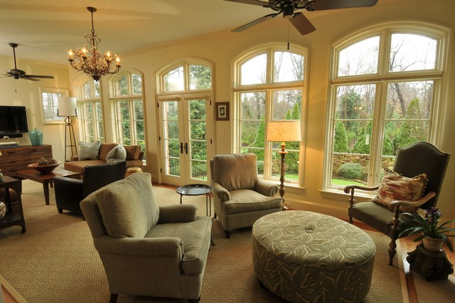 Interiors contemporary living room charlotte by for Interior home renovations inc