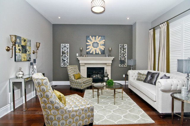 Interiors By Alankar Decor Eclectic Living Room Toronto