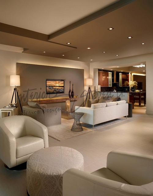 Interiors by steven g contemporary living room miami for G design hotel