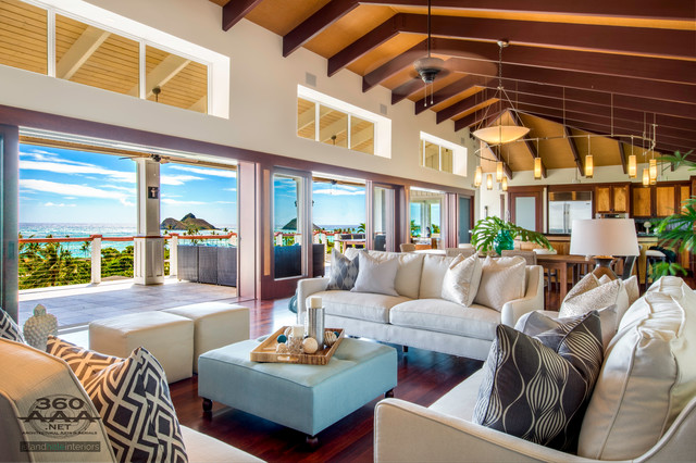 Interiors Tropical Living Room Hawaii By Hawaii All360 Real Estate Ph